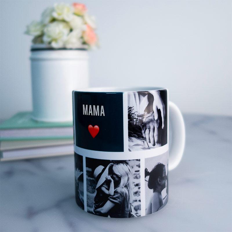 cadeau voor mama - personaliseerbare fotomok