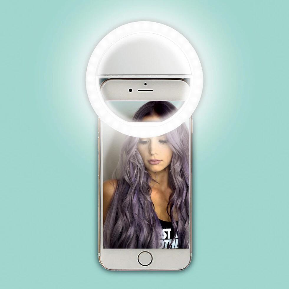 Selfie-lamp voor Smartphone of Laptop