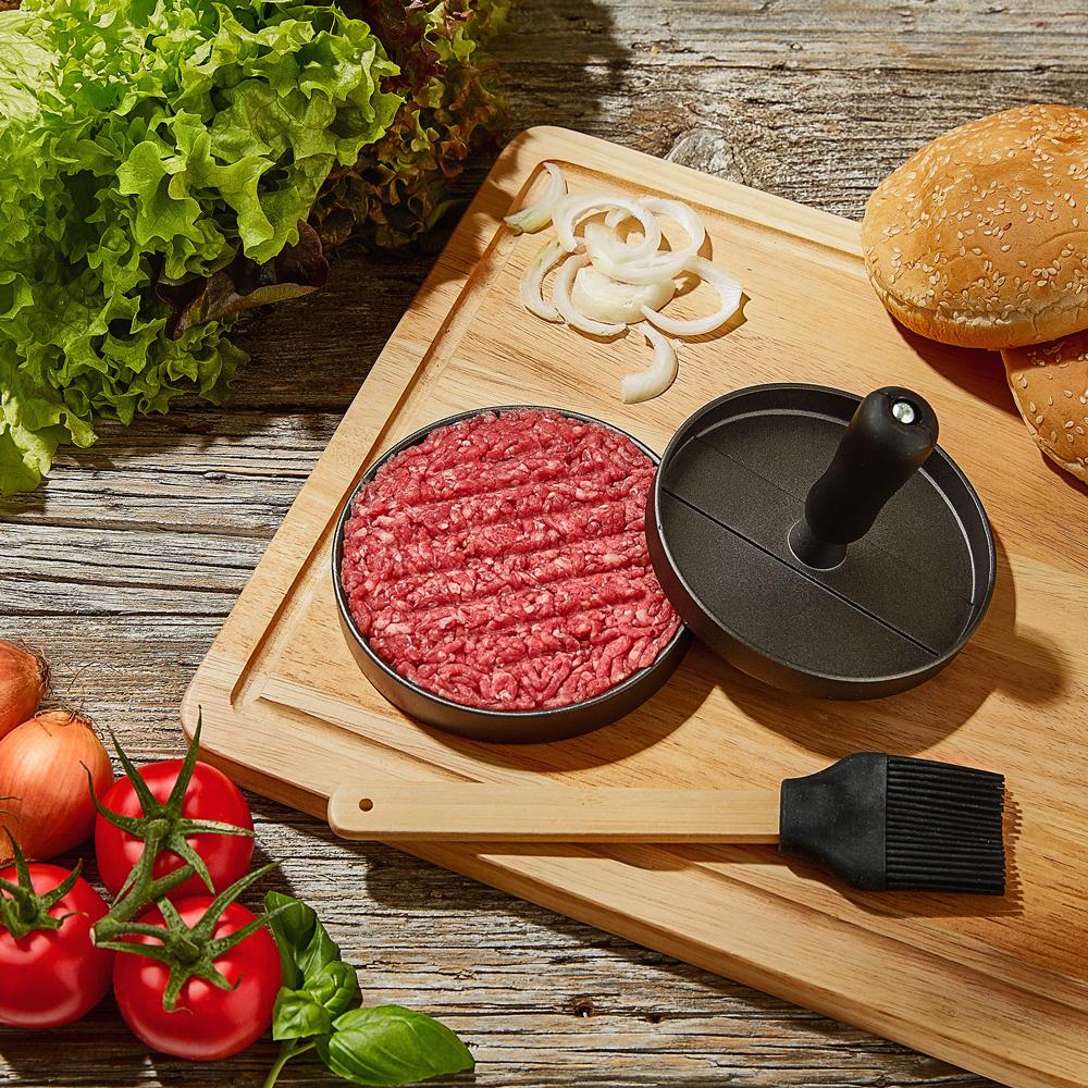 Hamburgerpers | Zelf Hamburgers Maken