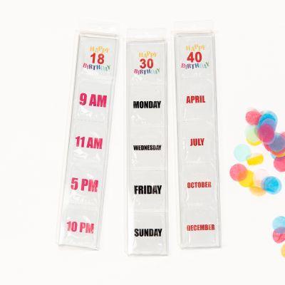 Condooms verjaardag 18 + 30 + 40