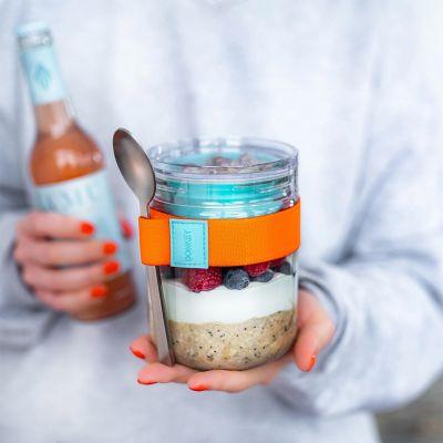 Yoghurt Beker of Lunchpot met 2 compartimenten