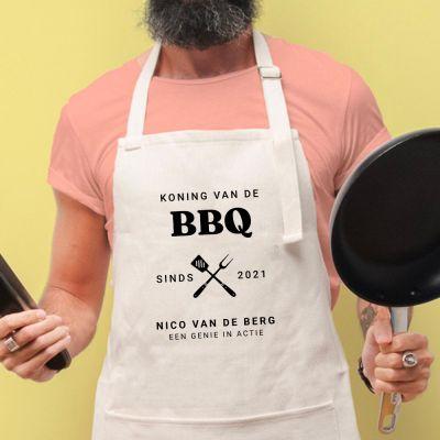 Keukenschort BBQ Koning