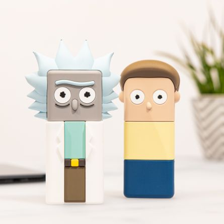 Ricky and Morty powerbanks