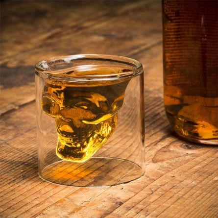 Doodshoofd shotglas