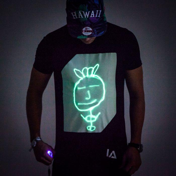 Interactief Glow T-shirt