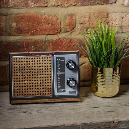 Retro Radio Bouwpakket DIY