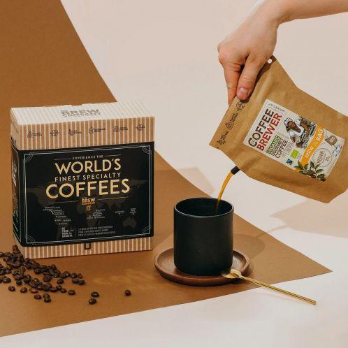 's Werelds beste koffie cadeaubox