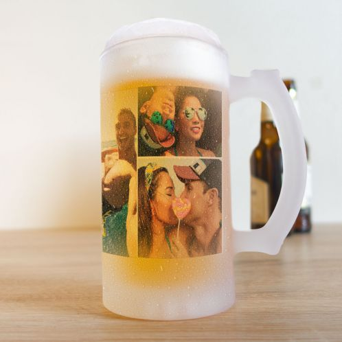 Bierpul met 5 afbeeldingen