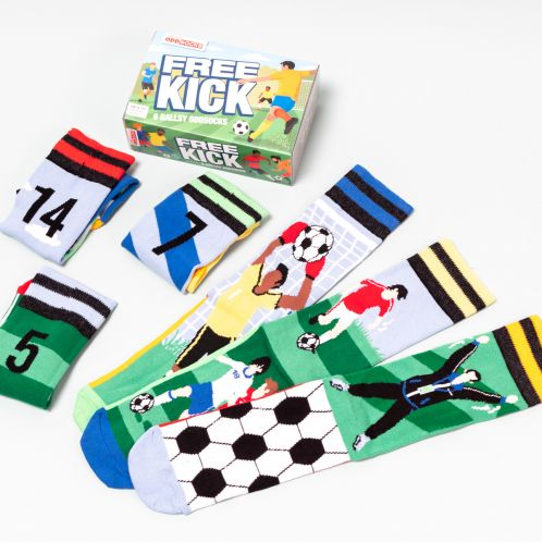 Free Kick Sokken Voetbalfans