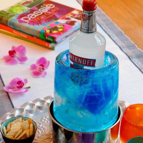 Ice Cooler - creatieve flessenkoeler