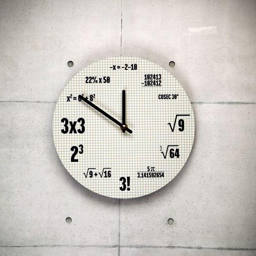 Wiskunde klok