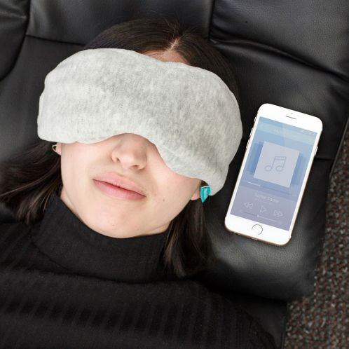 Slaapmasker met Bluetooth koptelefoon