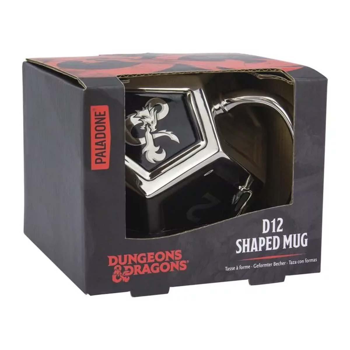 Dungeons & Dragons D12 mok
