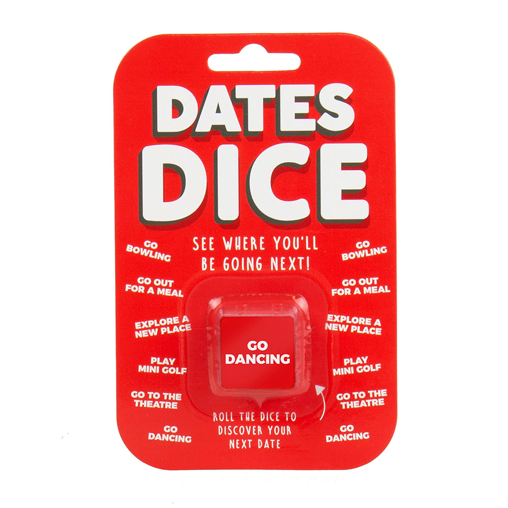 Date-Dice afspraak dobbelsteen