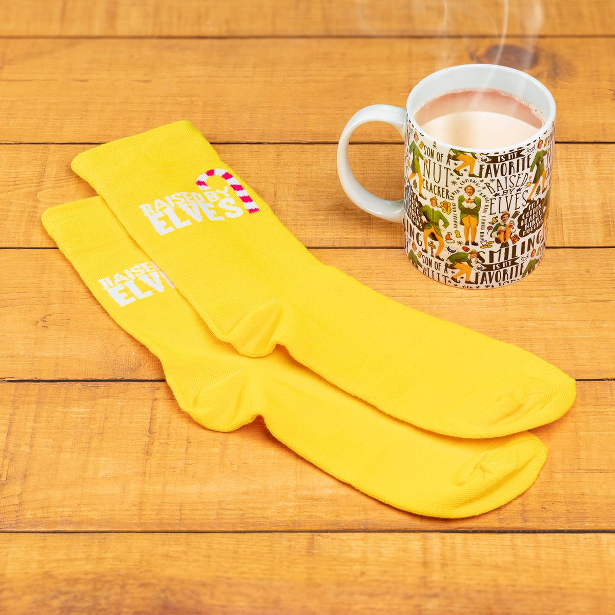 Kerstmis elfenbeker en -sokken