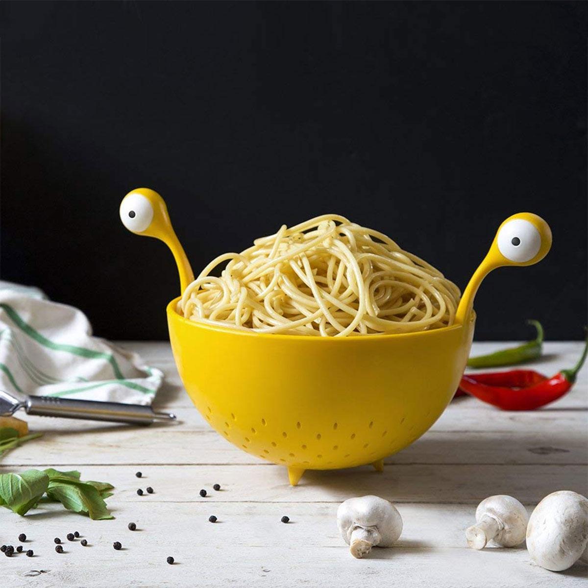 Flying Spaghetti Monster pasta zeef