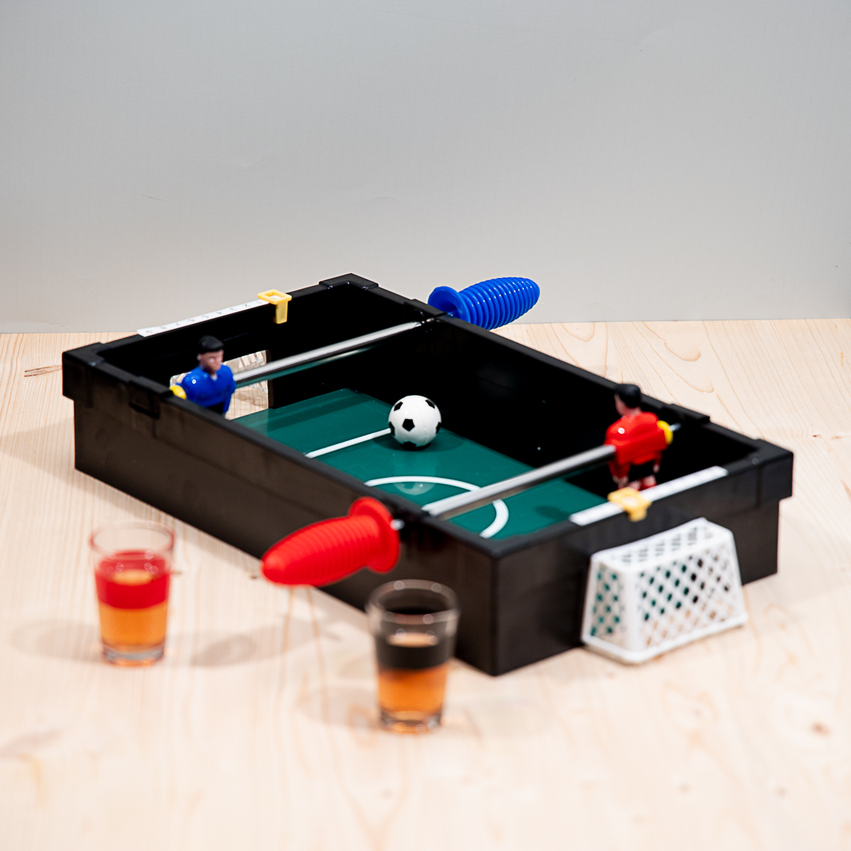 Tafelvoetbal drankspel