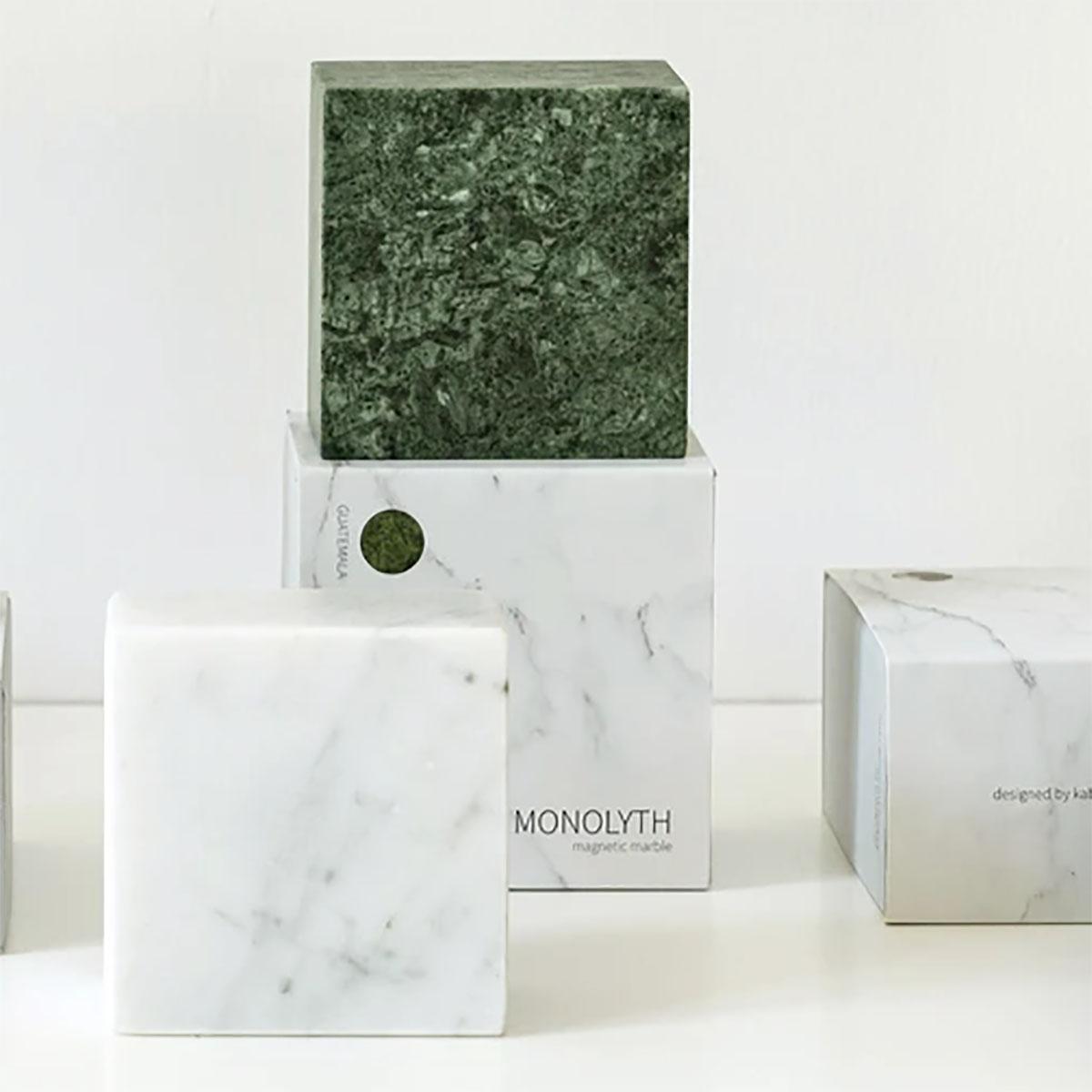 Magnetische Marmeren Monoliet Kubus