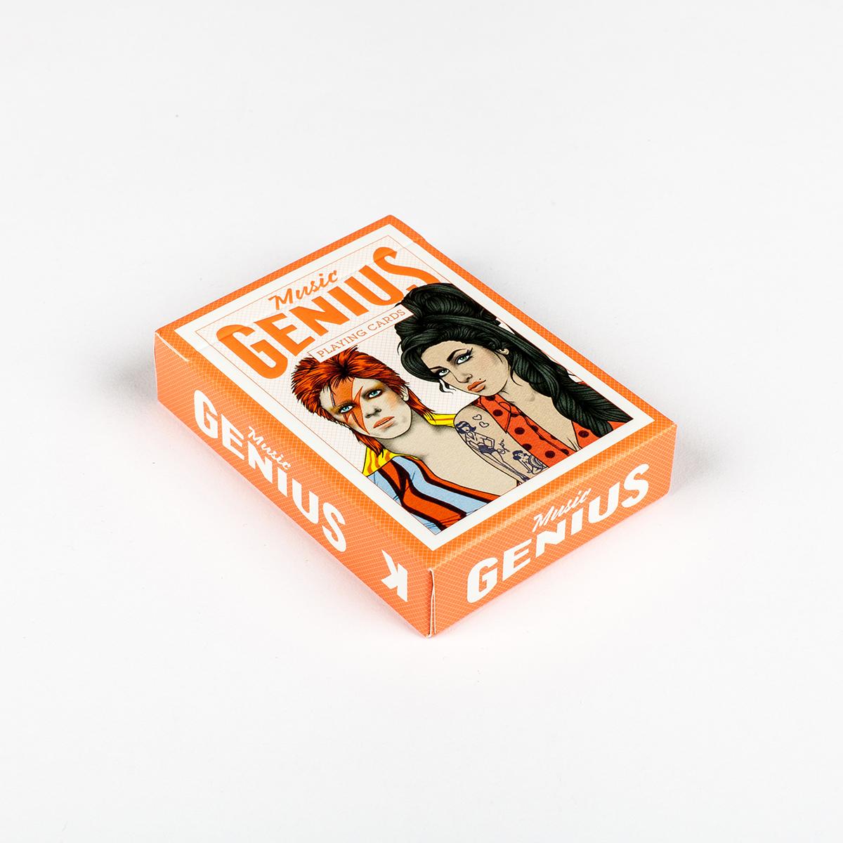 Muziek Idolen Speelkaarten