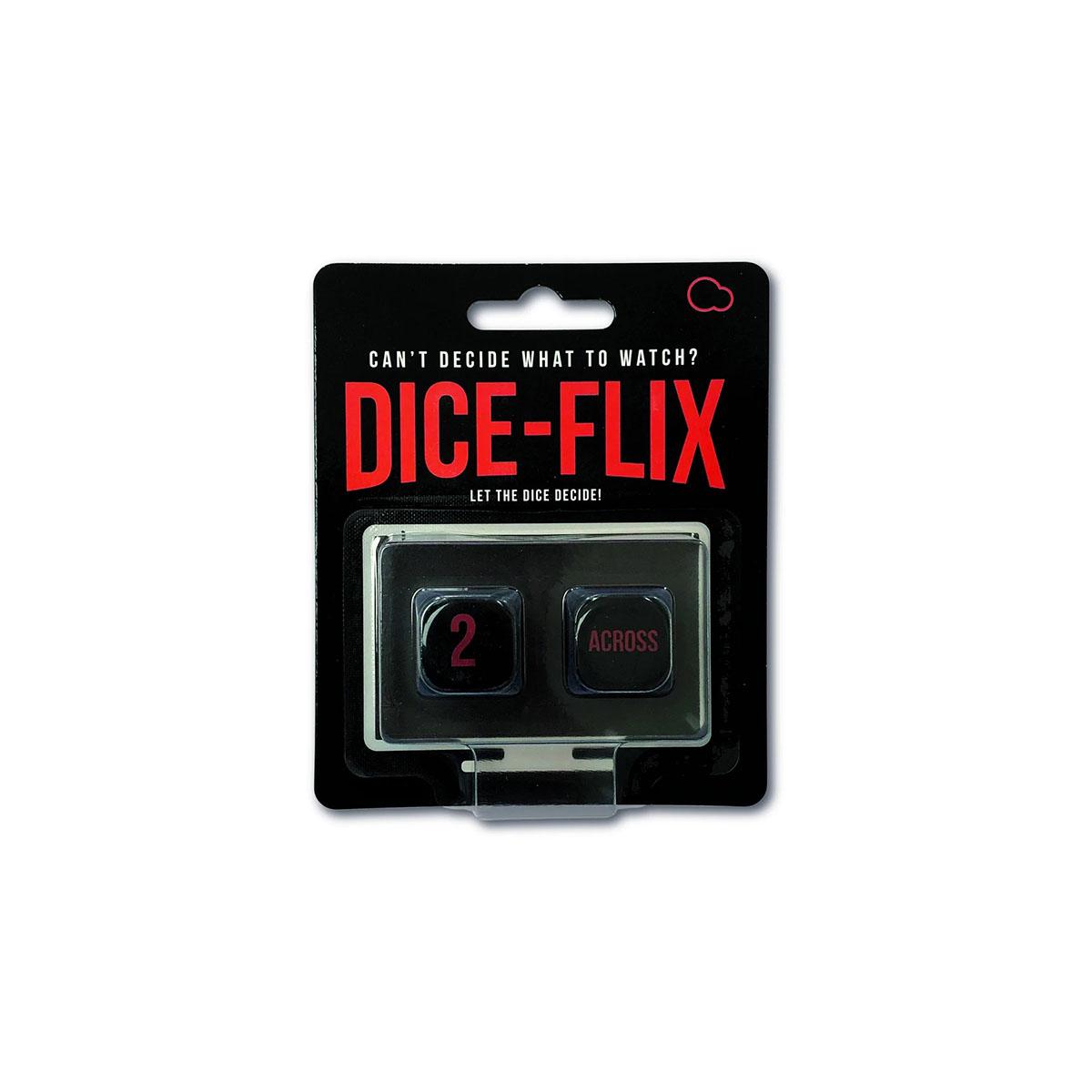 Dobbelstenen Dice-Flix voor filmkeuze