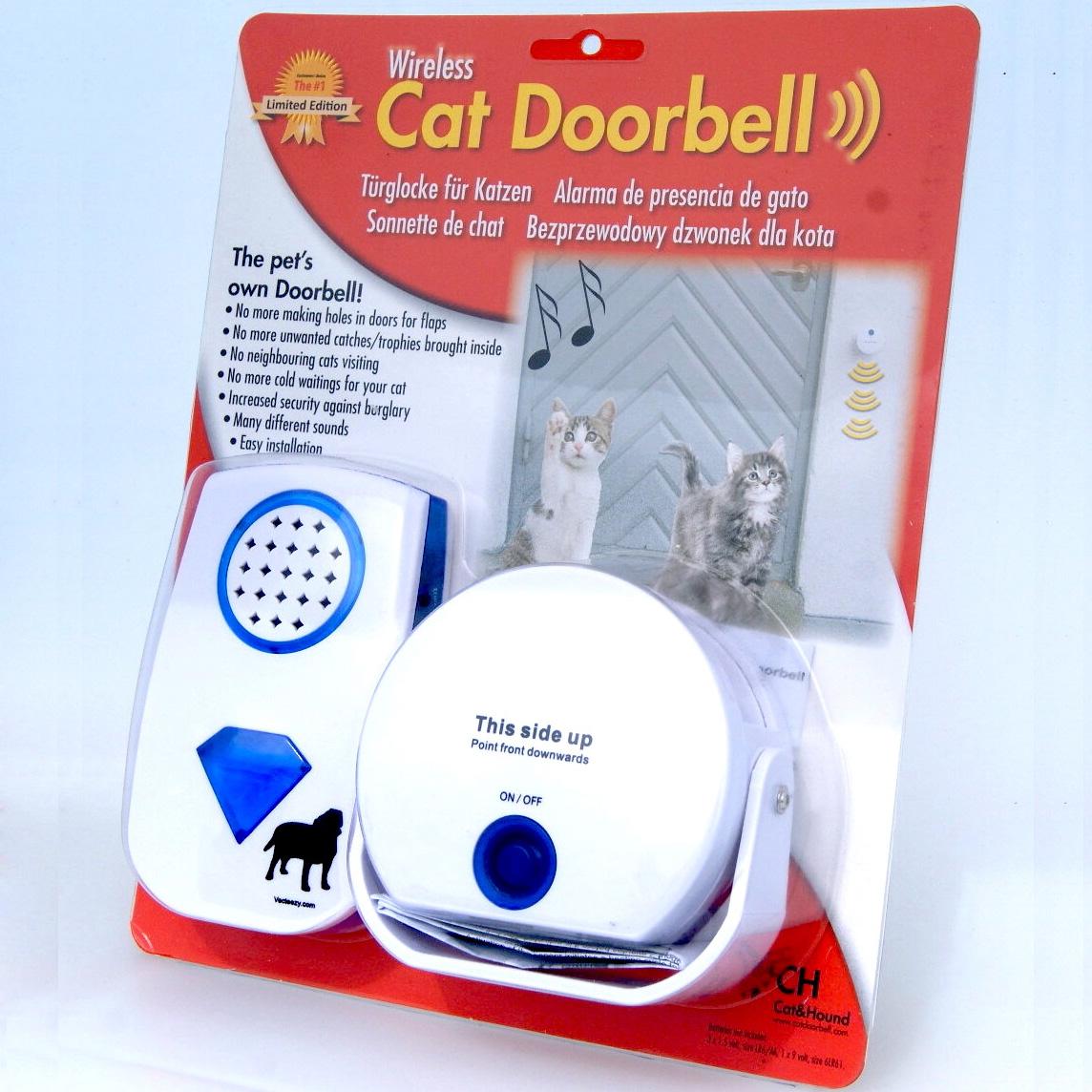 Katten deurbel