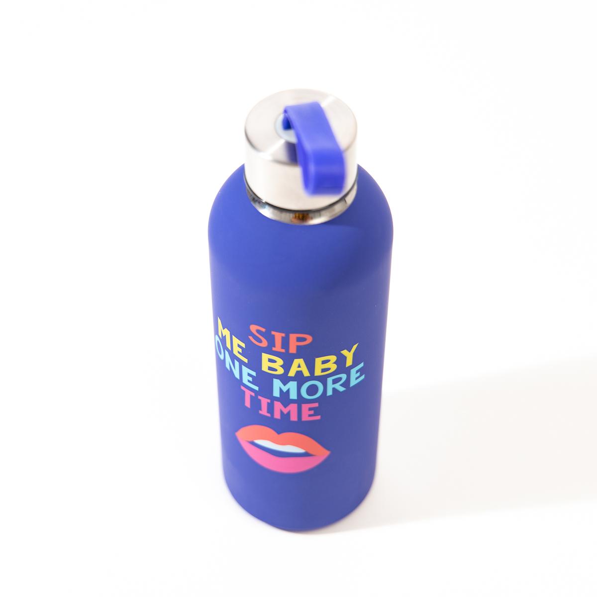 Sip Me Baby waterfles van metaal
