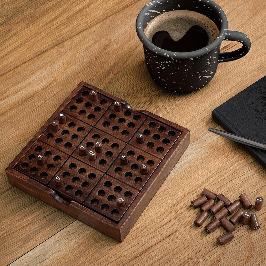 Sudoku Puzzel van Hout