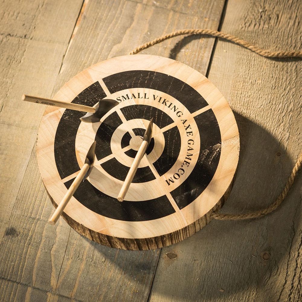 Viking werpbijlen spel