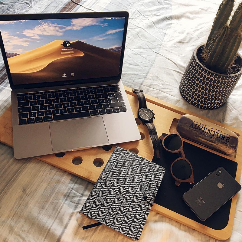 cadeau-voor-papa-laptop-onderzetter-van-hout