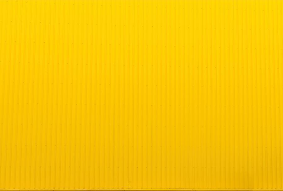 Farbige Fußmatte (FUCOXT) - Gelb