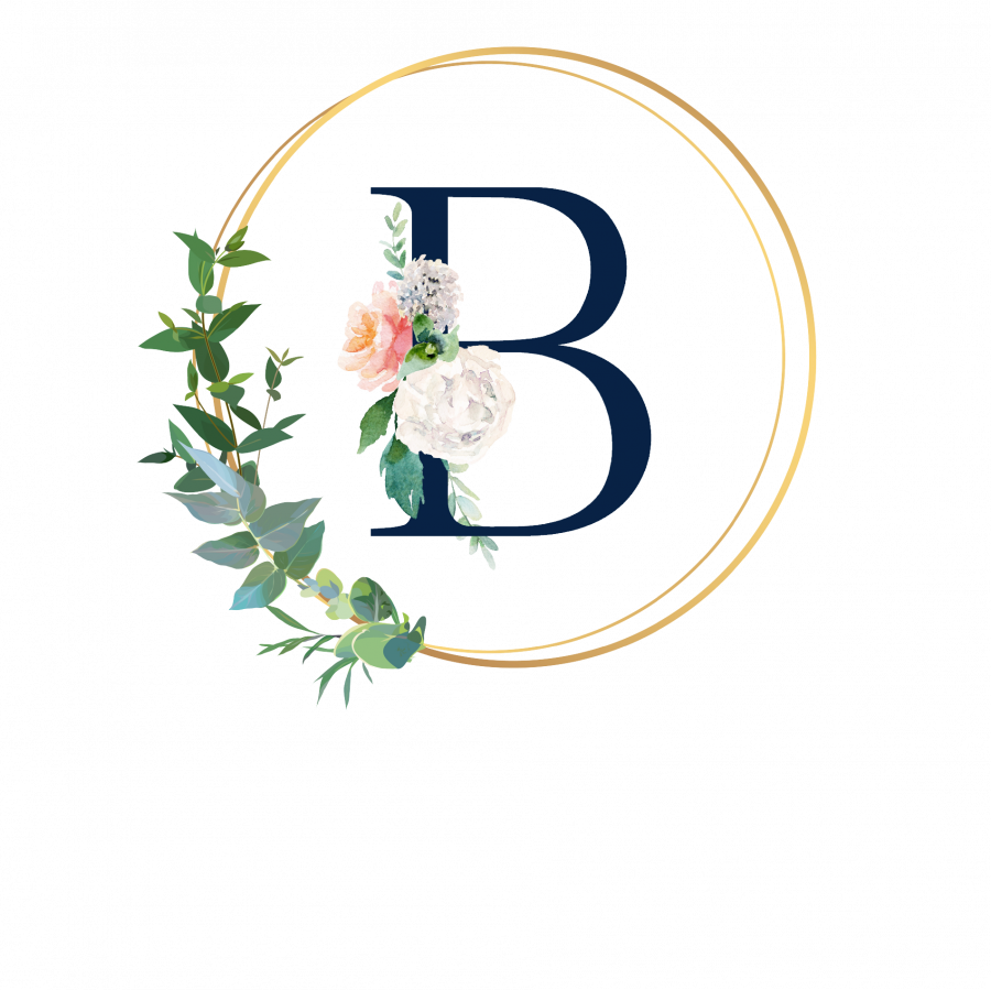 Pralinenbox mit Monogramm - B