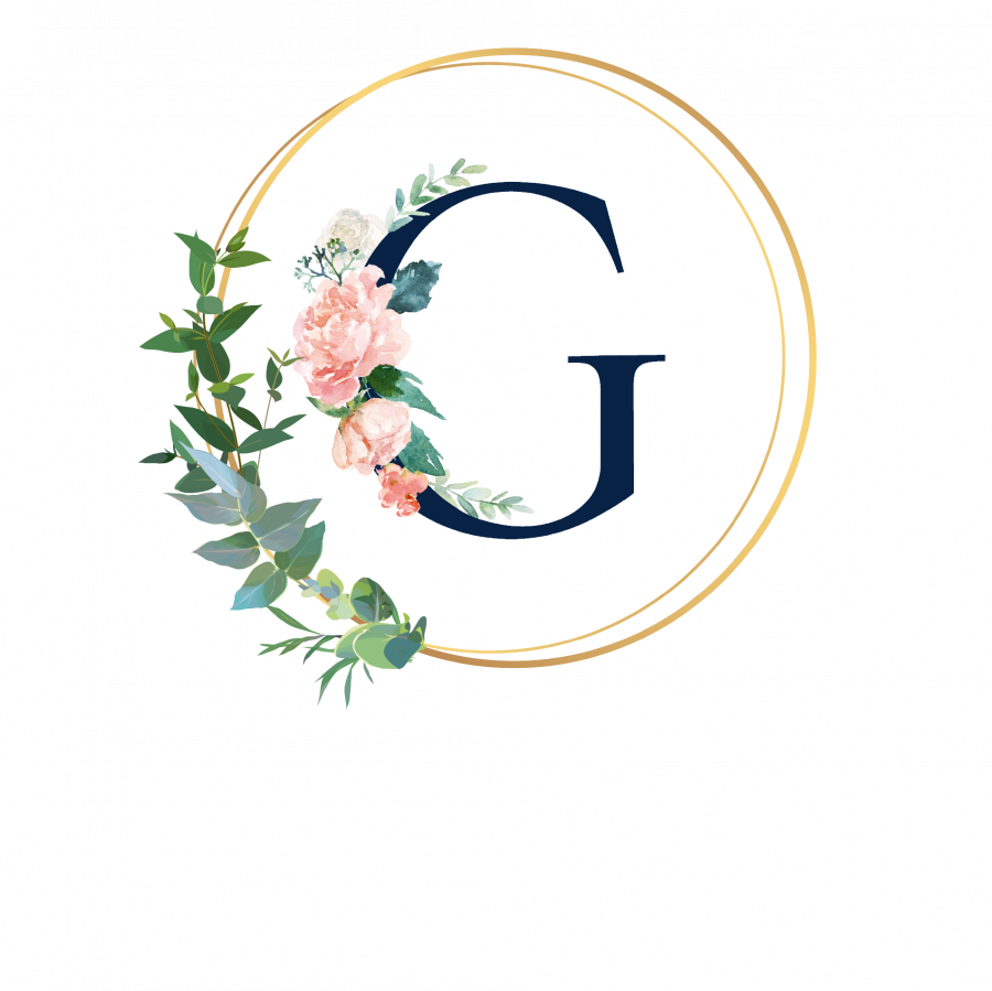Pralinenbox mit Monogramm - G