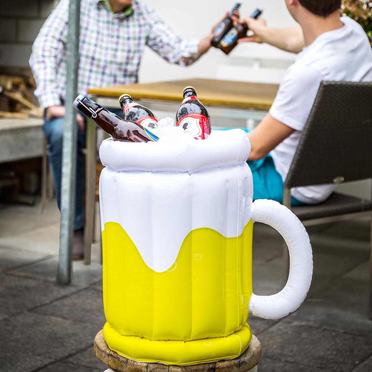 Opblaasbare bierkoeler