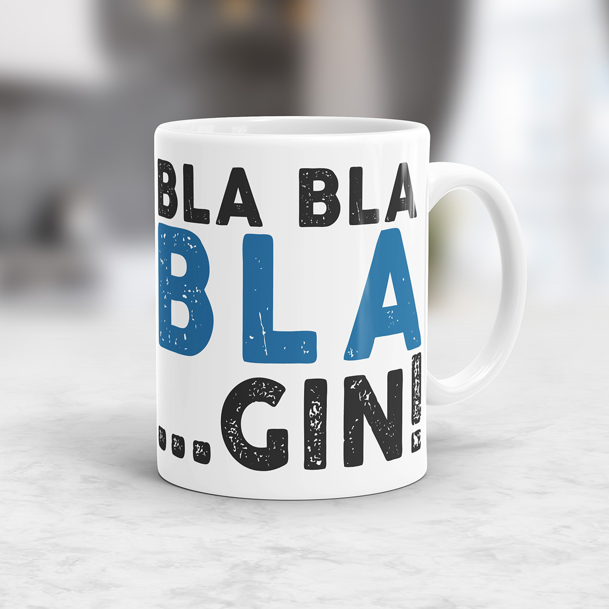 Personaliseerbare Bla Bla Mok