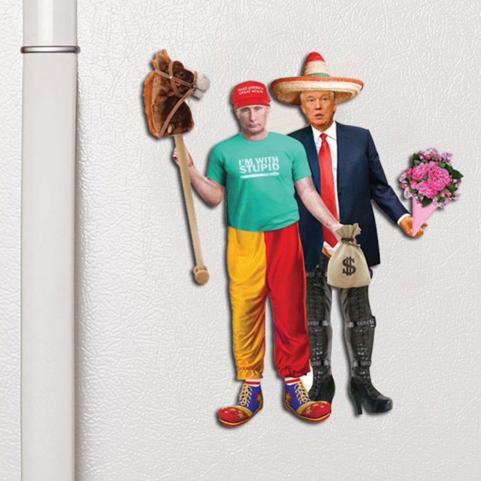 Trump & Putin Dress Up magneten