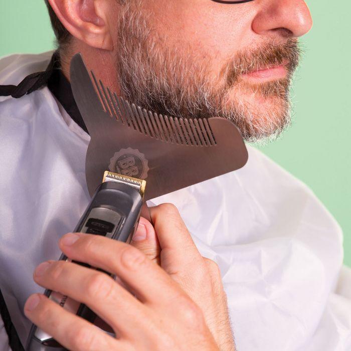 Baard styling gadget