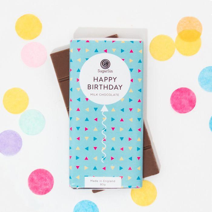 Happy Birthday Chocolade