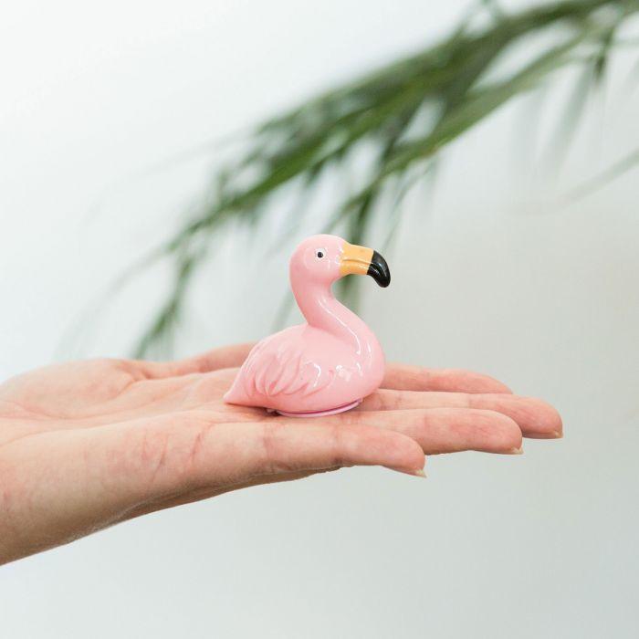 Roze flamingo lipgloss