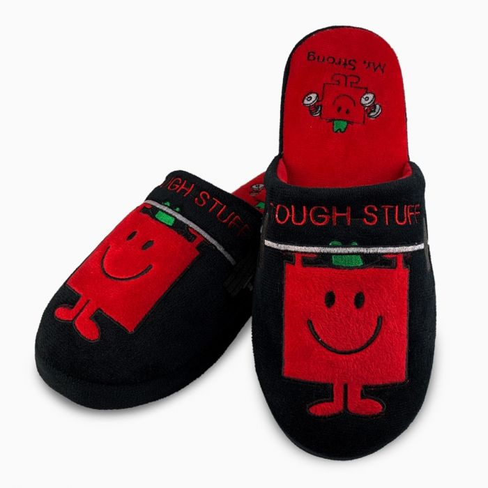 Mr. Strong slippers