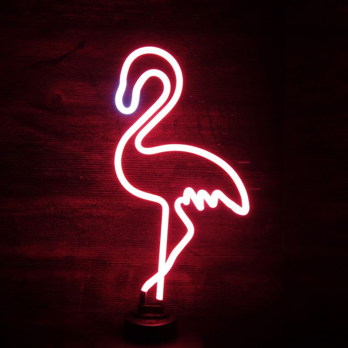 Flamingo neon licht