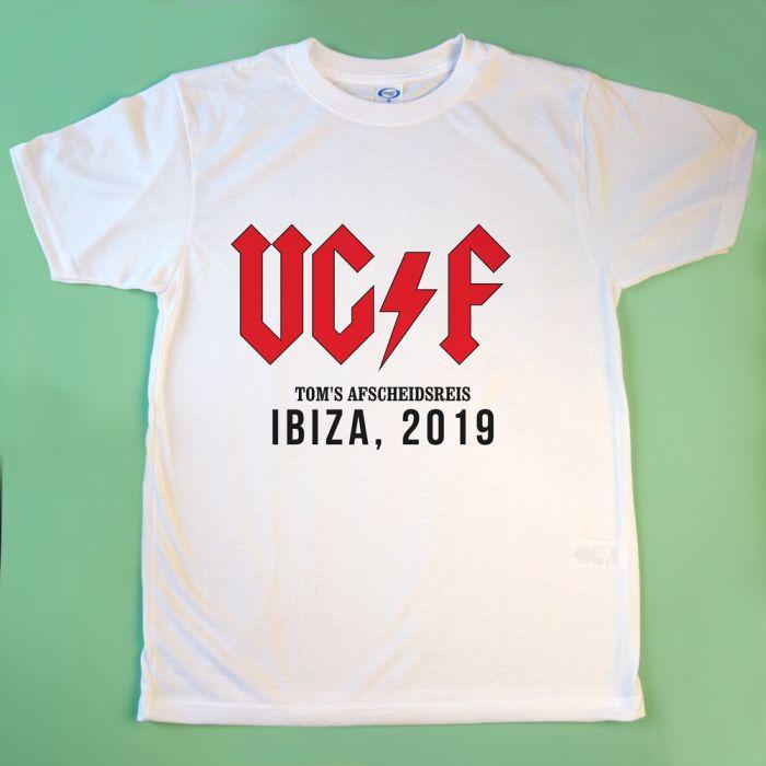 Personaliseerbare T-shirt met tekst