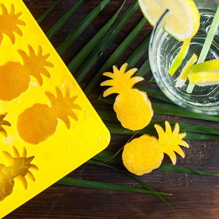 Ananas ijsblok vormen