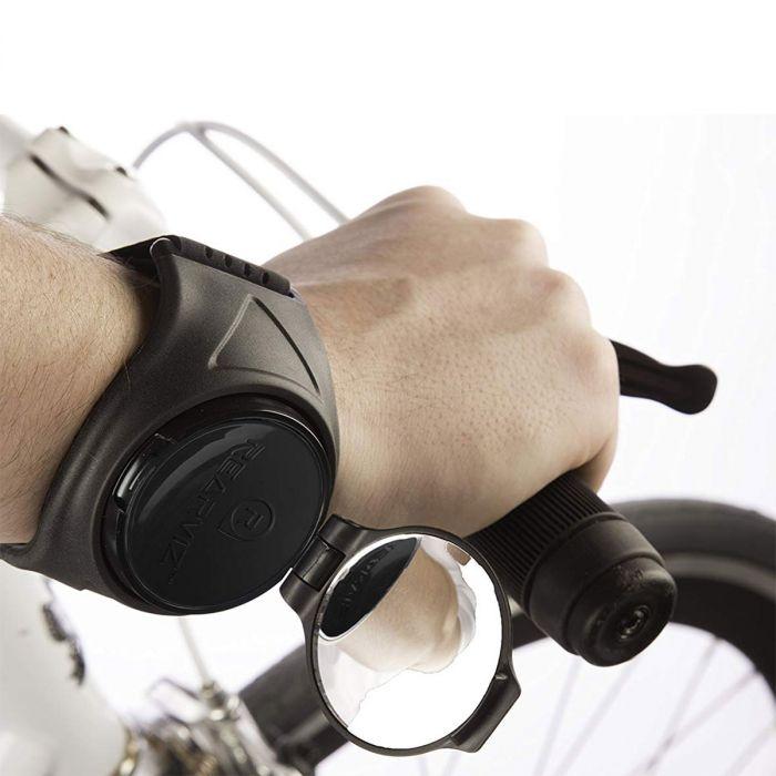 RearViz – draagbare achteruitkijkspiegel voor fietsen