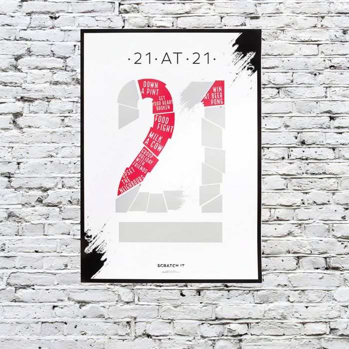 Kras poster to do lijstje voor verschillende leeftijden