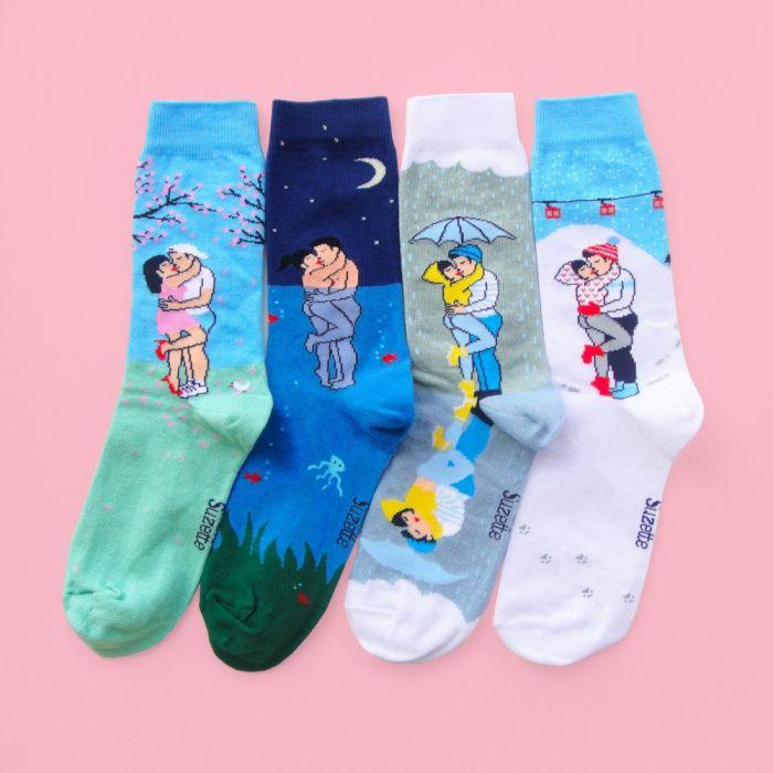 Liefdeskoppel sokken