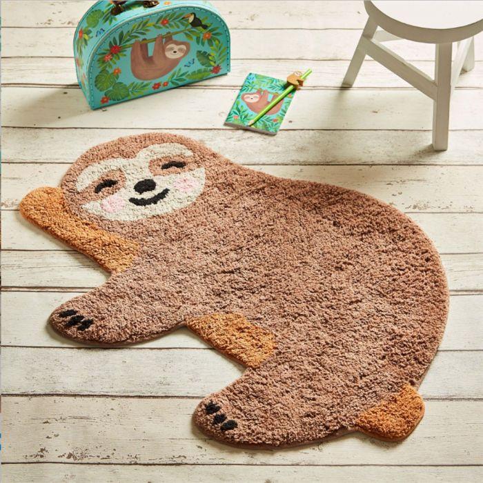 Luiaard tapijt