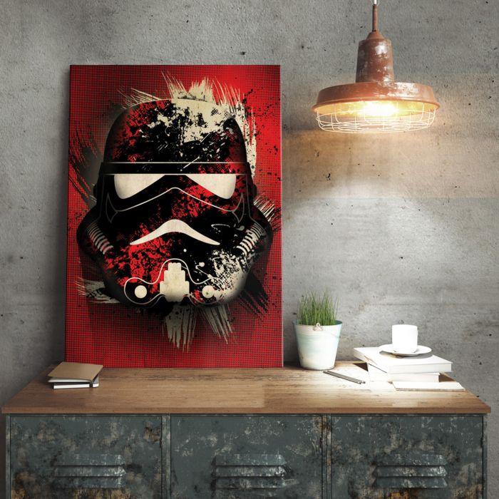 Star Wars metaalposter – Stormtrooper Splatter