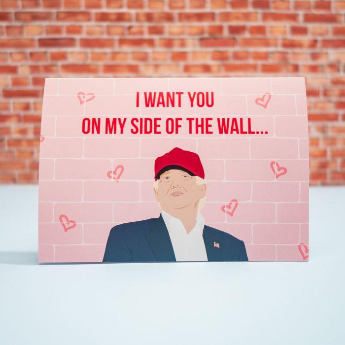 Liefdeskaart My Side Of The Wall