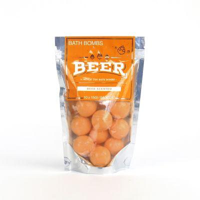 Bier badbommen