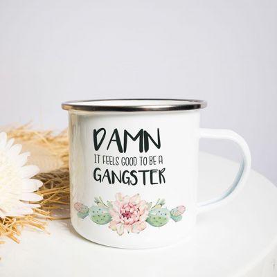 Metalen mok - Gangster